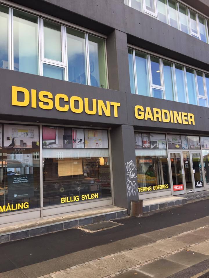 discount gardiner Discount Gardiner facade | PrintMarketing   Professionelle  discount gardiner